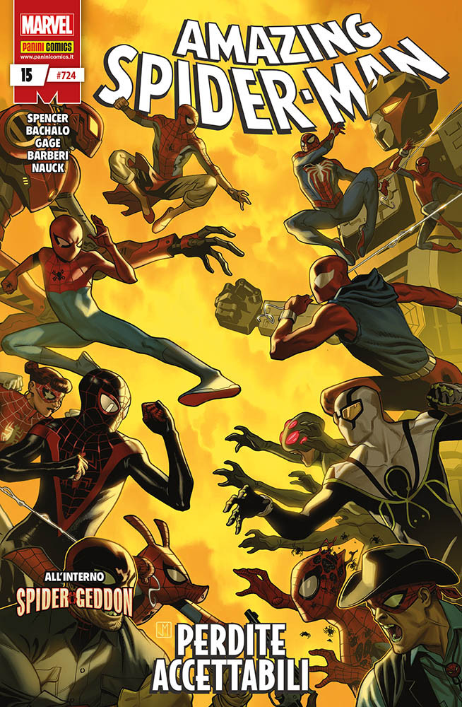 SPIDERMAN - L'UOMO RAGNO N. 724 AMAZING SPIDER-MAN 15